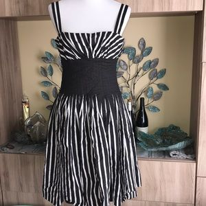 White House Black Market Striped Dress 1265